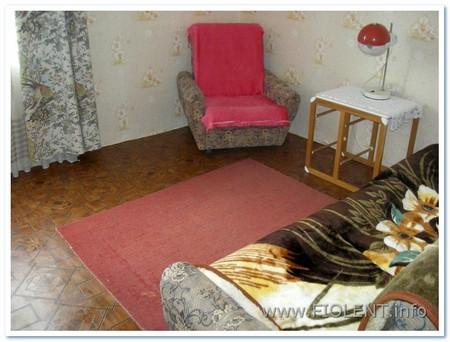 Дом Сергея. Комната на первом этаже.