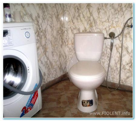 Дом с башенкой. Туалет.